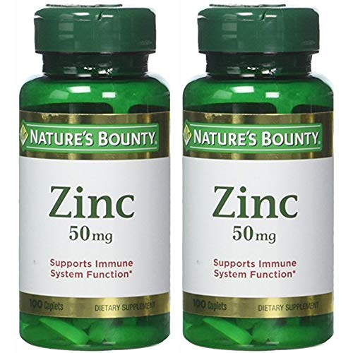Nature's Bounty Zinc 50 mg...