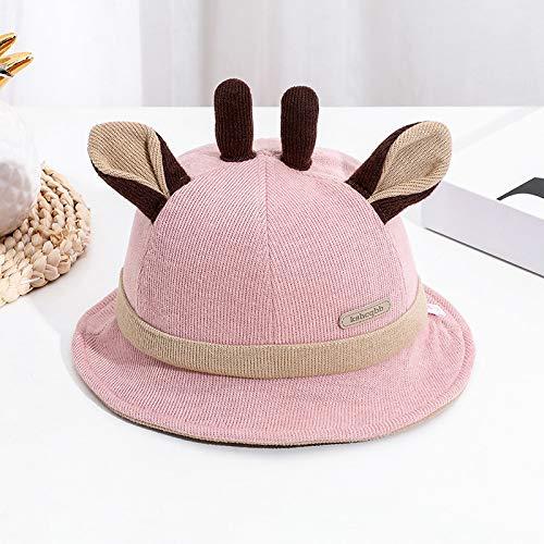 geiqianjiumai MZ8170 Leren standaard gewei kind wastafel hoed herfst nieuwe kinderhoed mode motorkap Fischer hoed