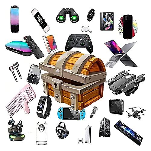 Caja misteriosa Caja de misterio, cajas de suerte, cajas de misterios, productos aleatorios electrónicos, hay la posibilidad de abrir: como drones, relojes inteligentes, gamepads, cámaras digitales y