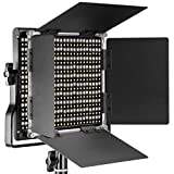 Neewer 660 LED Panneau Lumière Vidéo Photo Eclairage Studio Photo LED Panel Bicouleur 3200-5600K,CRI 96+ avec U Support et Coupeflux pour Studio Photo Vidéo YouTube
