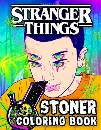 Stranger Things Coloring Book: A Cool Coloring Book For Adul