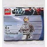 LEGO Star Wars 5000063 TC-14 Promo MiniFigure Silver Chrome Exclusive Limited