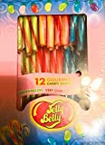 Jelly Belly Gourmet Candy Canes. Holidays Candy (1) 5.3oz Box, 12 individual wrapped pieces