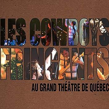 Au Grand Théâtre de Québec (Live)
