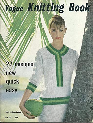 Vogue Knit Nº 58 (Vintage Needles Book 10) (English Edition)