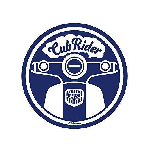 HONDA スーパーカブ/Super cub/ステッカー/CubRider / φ11 / ネイビー