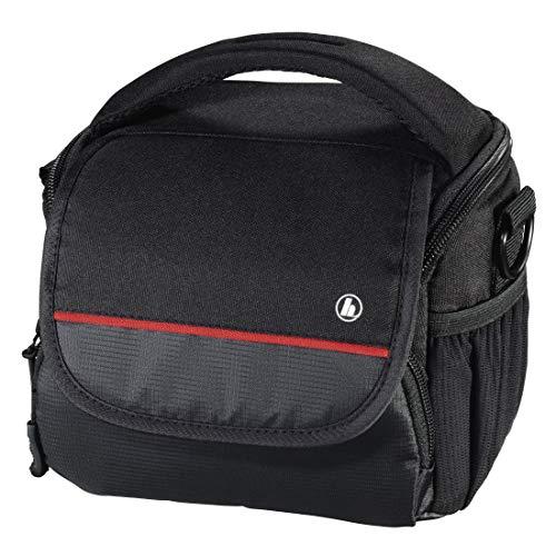 Hama Monterey Schultertasche Schwarz - Kamerataschen/-Koffer (Schultertasche, Universal, Schultergurt, Schwarz)