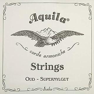 New ! Aquila Oud Strings Iraqi Tuning 11 Strings - Red Nylgut (TURKISH - TUNE-WHITE)