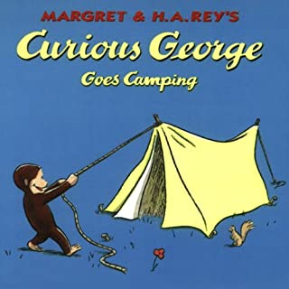 Curious George Goes Camping (Unabridged) audiobook cover art