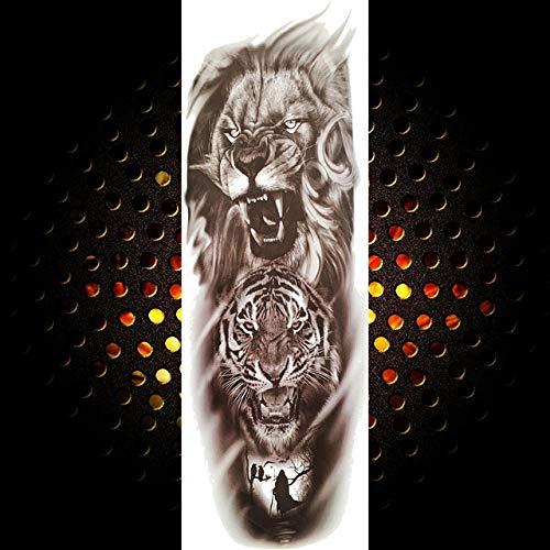 2 Unids-Brazo Completo Etiqueta Engomada Del Tatuaje