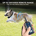 PATPET-Dog-Training-Collar-Dog-Shock-Collar-with-Remote-3-Training-Modes-Beep-Vibration-and-Shock-Up-to-1000-ft-Remote-Range-Rainproof-for-Small-Medium-Large-Dogs