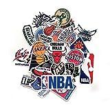 32 Pegatinas de Baloncesto. Pegatinas Asociacion Basquetbol NBA. Pegatinas Lakers, Chicago Bulls, Orlando Magic u Mucho mas