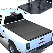 Replacement for 15-18 Ford F150 Truck 5.5Ft Short Bed FRP Hard Solid Tri-Fold Tonneau Cover