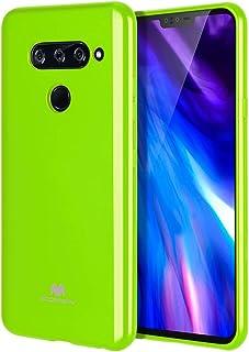 Goospery Pearl Jelly for LG V40 ThinQ Case (2018) Slim Thin Rubber Case LGV40-JEL green LGV40-JEL-LIM