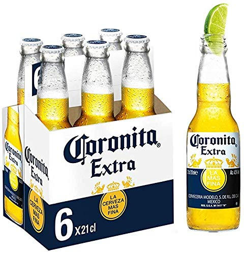 6 er Pack Corona Extra aus Mexiko SIXPACK 6 x 33cl Bier