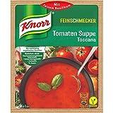 Knorr Feinschmecker Tomaten Suppe Toscana, 2 Teller, 9er Pack,
