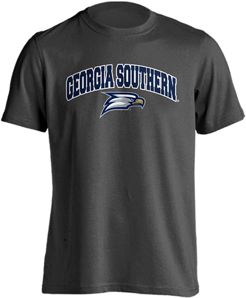 Georgia Southern Eagles Classic Arch Mascot Basic Collegiate Short Sleeve T-Shirt