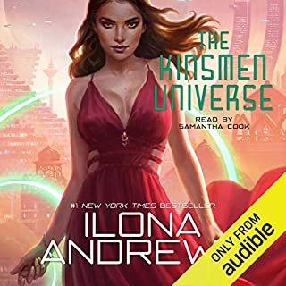 The Kinsmen Universe audiobook cover art