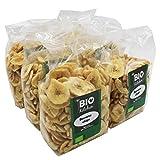 BioKitchen - Chips de plátano ecológico (6 envases de 250 g)...