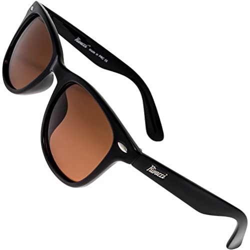 c443b15fe11 Rivacci Polarised Sunglasses for Mens And Womens - Anti Glare Driving  Glasses UV Protection - Cool