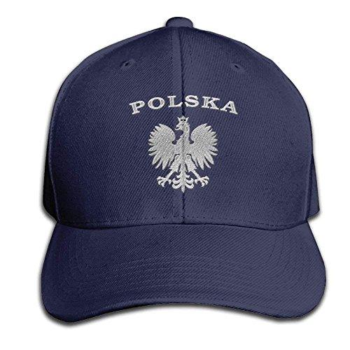 MN.NM4554 Men's Trucker Hat Adjustable Snapback Cap - Polska Eagle