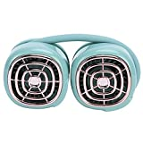 Zerodis Portable Neck Hanging Fan, Hand Free Foldable Sports Fans with Adjustable 3 Gears 360 Rotation Cooling 3-11 Hours Working for Travel Office(Green)