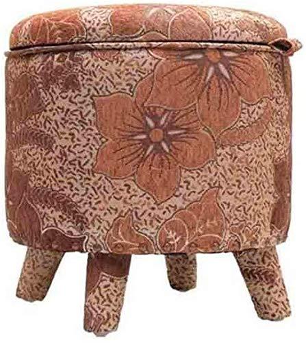 CHU N1 Lagerung Stuhl, mit Abnehmbarer Abdeckung Fußbank Polster Stoff Runde Pouffe Stuhl 108 (Size : 3)