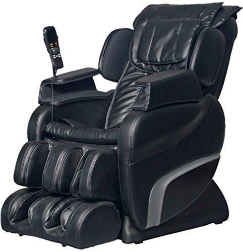 Titan TI-7700R L-Track, Hip & Seat Vibration Massage Chair (Black)