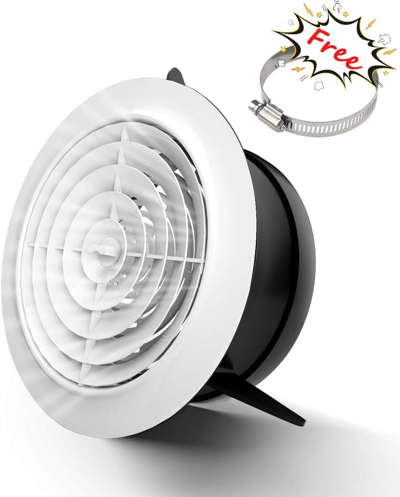 Soffit Vents 4 Inch Adjustable Round Louver ABS Super Austin Mall special price Air Grille