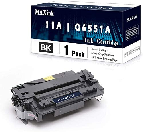 1 Pack Black 11A Q6511A Toner Cartridge Replacement for HP Laserjet 2430 2410 2420 2420d 2420n product image