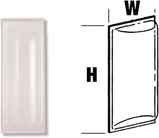 Larsens CB-0621 Clear Bubble Cover for C-2409 Fire Extinguisher Cabinets