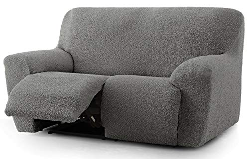 Funda de sofá Relax Spongy Tejido Adaptable y Esponjoso - Color 06 Gris - para Sofa Relax 2 plazas
