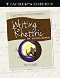 Writing & Rhetoric Book 5: Refutation & Confirmation Teacher