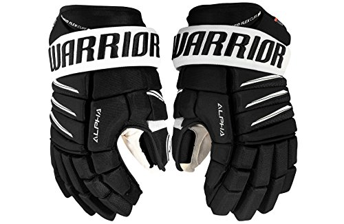 Warrior Alpha QX Pro Handschuhe Senior, Größe:15 Zoll, Farbe:schwarz/weiß