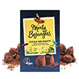 Curiously moreish cocoa dusted luxury Vegan truffles in a beautiful gift box. An uncompromisingly delicious truffle with creamy chocolatey notes, a hint of dark chocolate flavour, and all the goodness of crunchy cocoa nib pieces Each chocolate gift b...