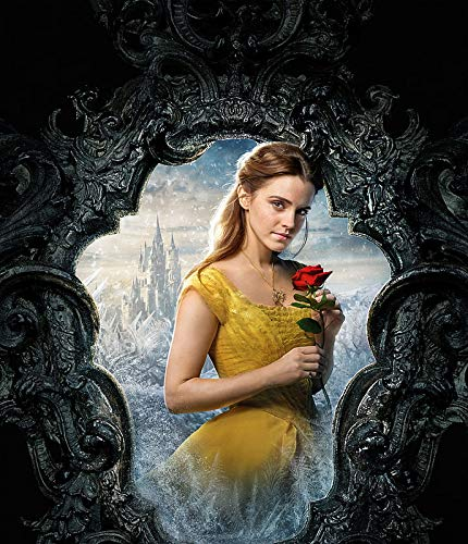 Emma Watson Belle K Beauty And The Beast - Póster (12 x 18 pulgadas), multicolor