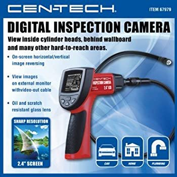 Wireless Digital Inspection Camera with 2.4-inch Color LCD On-screen Image Reverse and 180° Rotation