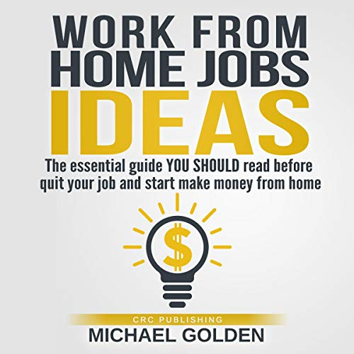 Work from Home Jobs Ideas audiobook cover art