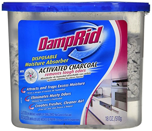Damp Rid Fg118 18 Oz Moisture Absorber With Activated Charcoal (Pack of 2)
