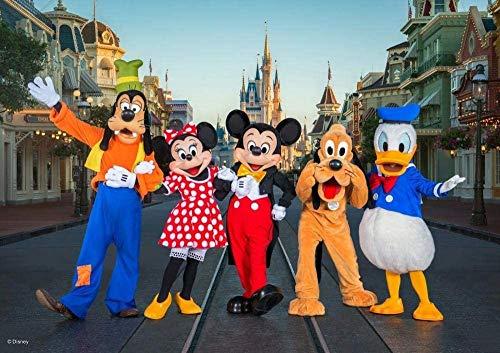 Puzzle para adultos 1000 piezas Donald Duck Mickey Mouse Movie Puzzle juego educativo juguete desafiante rompecabezas