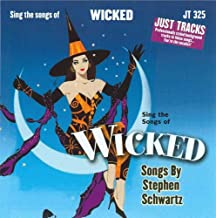 Sing The Songs of Wicked Accompaniment