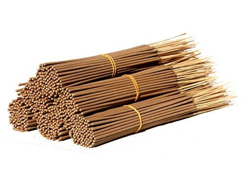 5 Bundles AURA VARIETY Premium Natural UNSCENTED UNCOLORED 11' Incense Stick Bundles - Punk Sticks
