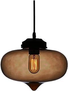 Huahan Haituo Nowoczesny Village wielokolorowy szklany klosz lampy wiszące loft lampa lampa do sypialni restauracji salonu...