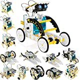 ✅【13 in 1 Building Robot Kits】Build 13 different types of robots from one kit, which can fully mobilize the thinking and practical ability of children. At the same time, unique accessories of solar robot kits allow the robot not only to operate on la...