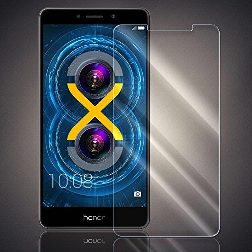 Numerva - Protector de Pantalla para Huawei Honor 6X (dureza 9H, Cristal blindado)