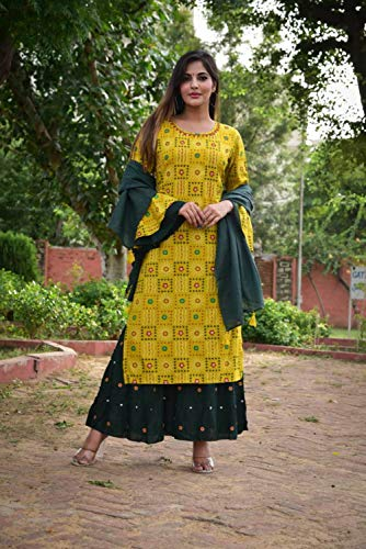 Traditional Jaipur Women's Rayon Fe…