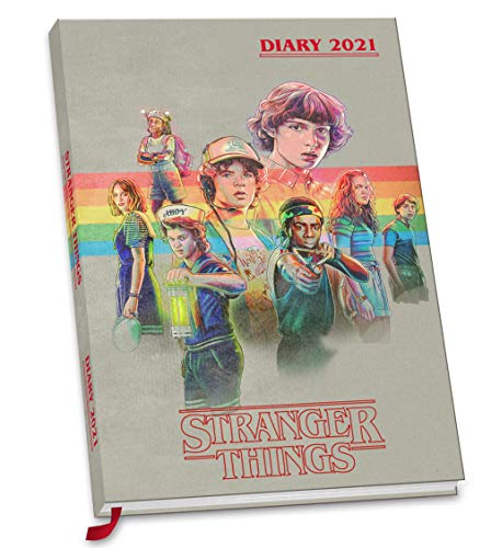 Official Stranger Things 2021 Diary - A5 Diary