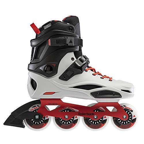 Rollerblade RB PRO X Inline Skate 2021 grigio/rosso caldo, 42