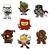 Disney Pin - Star Wars Weekends 2015 Mystery Collectible 5 Pin Pack - 109143, Multicolor, Small