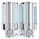 Better Living Products 76245-1 AVIVA Two Chamber Dispenser, Chrome